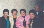45th Reunion - Mary Stanley, Donna Soretto, Carol Bertagna and Terry Stanley/62.