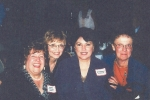 45th Reunion - Gay-Ann Beninati, Arlene Monez, Alphonsine Petralia and Maureen Gibbons.