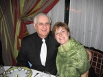 Paul Decareau & daughter Sheryle at her 40th birthday in Paris December 1, 2007