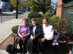 Judy Robinson,Judy Anderson and I (Ruth Santos) enjoy our annual reunion in Arlington Heights Oct 13,2010